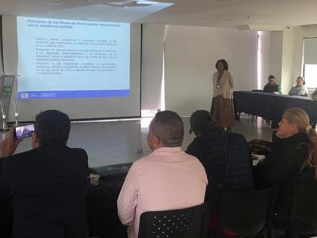 Alcaldes de Cundinamarca recibieron capacitación en política de víctimas