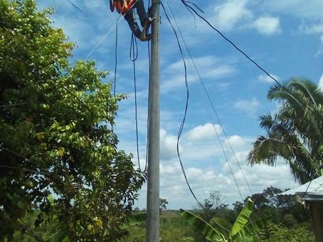 Llegó la energía a La Fe en Puerto Boyacá
