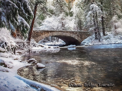 Pohono Bridge, Yosemite