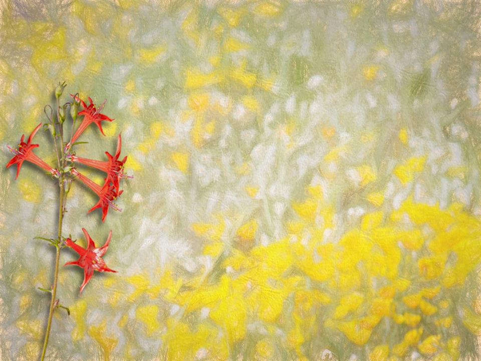 Yellow Painting 9