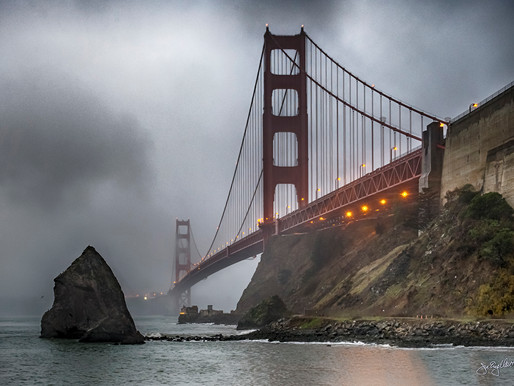 Five Iconic Views of the Golden Gate Bridge