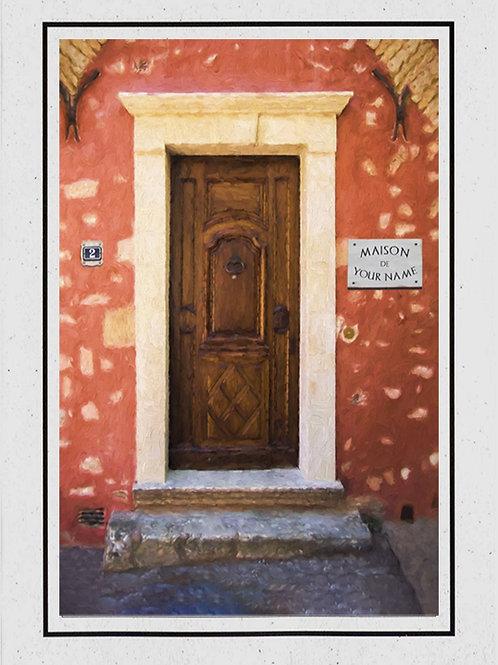 No 2 Wood Door