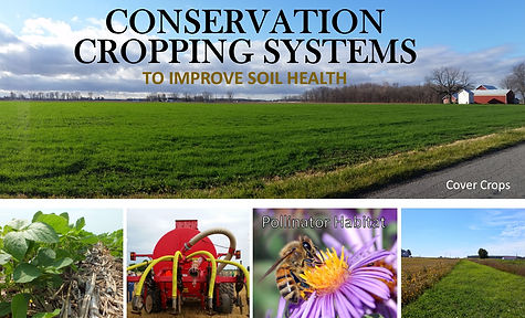 conservation cropping systems grant with