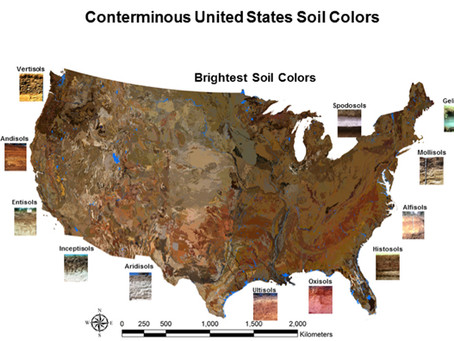 National Park Service 100th Birthday Blog by Munsell Color Company celebrates Soil and Soil Color