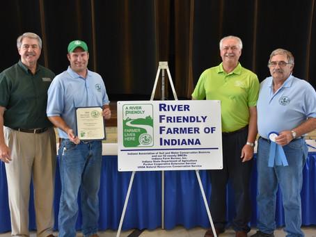 Ness Farms Named 2016 River Friendly Farmer of Indiana