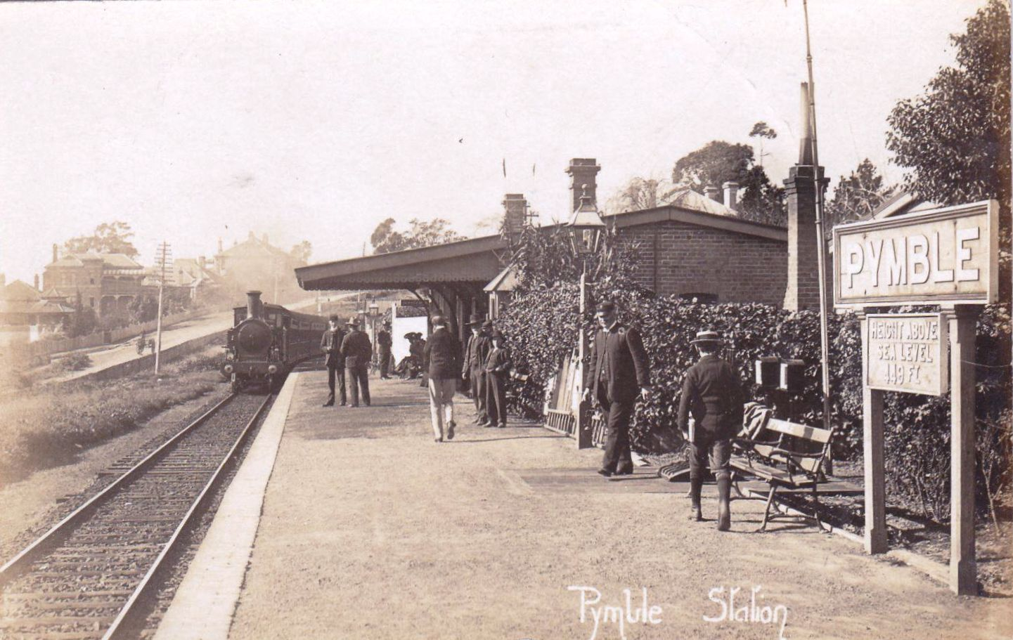 Pymble Train Station