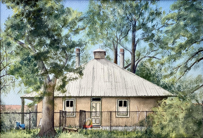 Nina Paine painting