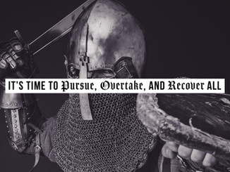 Time to Pursue, Overtake and Recover All