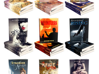 New!  Premade Book Covers