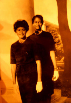Nell and Rosemary at Spelman 1962