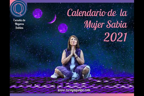Calendario Impreso y Digital de la Mujer Sabia 2021