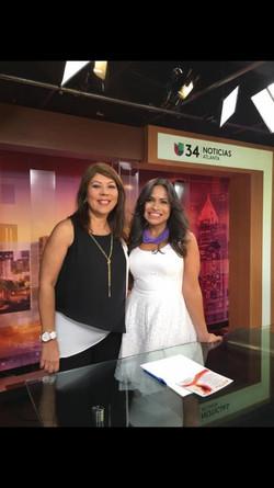 Entrevista en Univision