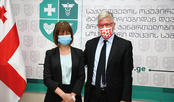 Minister Tikaradze Invited Prof. Nadir Who Invented The Anti-Coronavirus Medicine