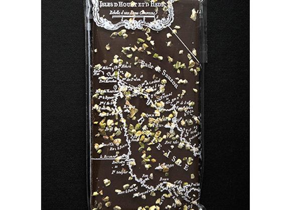 Tablette chocolat au lait et pistaches