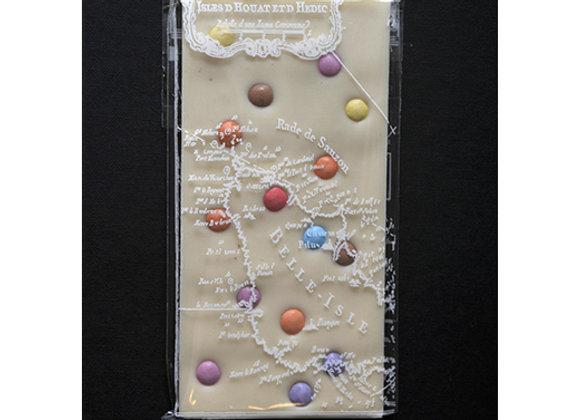 Tablette chocolat blanc et smarties