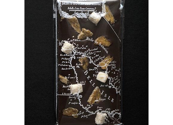 Tablette au chocolat noir coco et banane