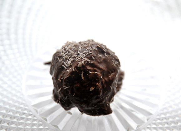 Rocher au chocolat noir & noix de coco