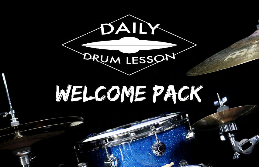 Daily Drum Lesson WELCOME PACK