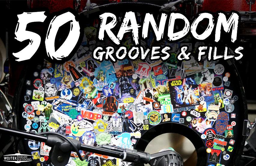 50 Random Grooves & Fills