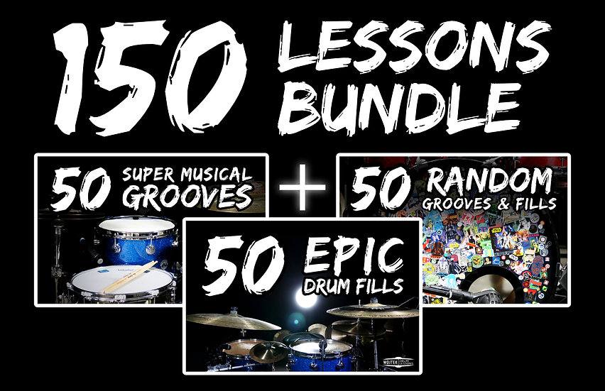 [PRODUCT BUNDLE] 150 Grooves & Drum Fills