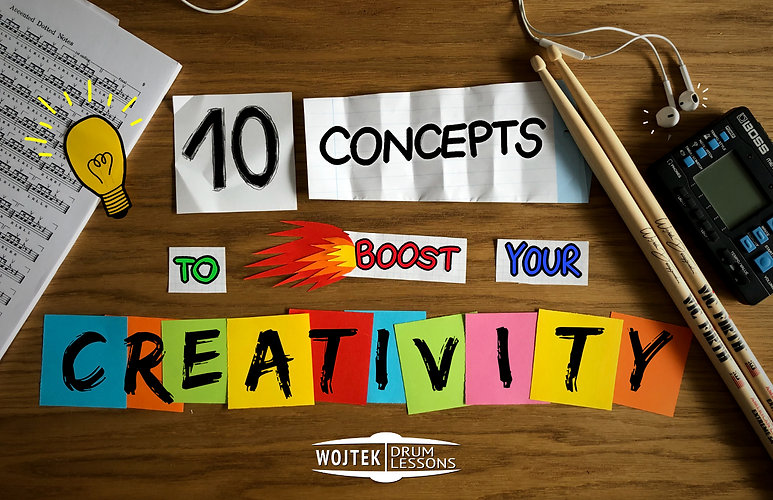 10 Concepts to boost your creativity. CO