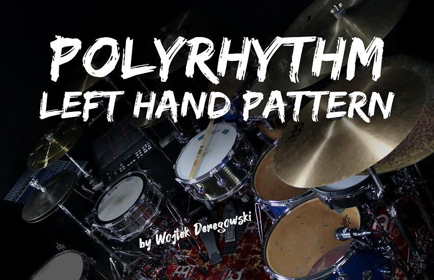 Polyrhythm Left Hand Pattern