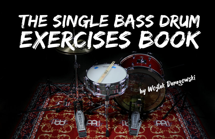 The Single Bass Drum Exercises Book