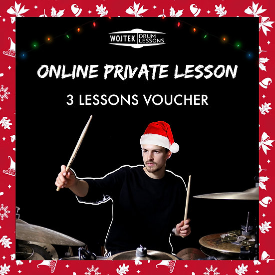 Christmas Voucher for three 60 min lessons