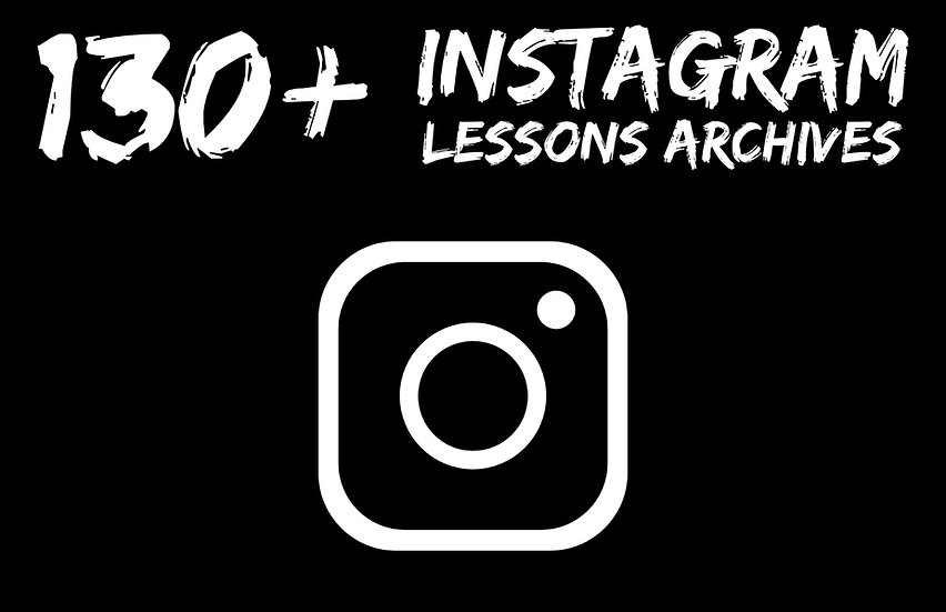130+ Instagram Lessons Archives