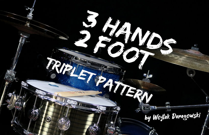 3 Hands 2 Foot Triplet Pattern