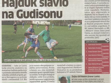 Pobjeda u Gudovcu !