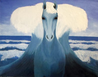 The Horse of the sea god