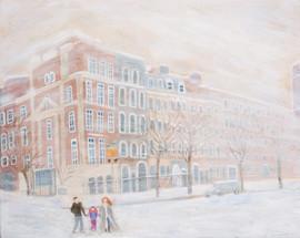 Snowy Day in New York