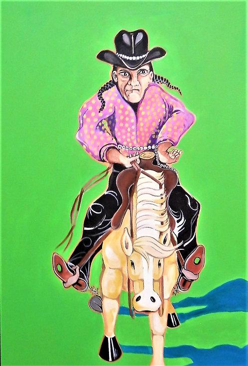 Fritz's Indian Cowboy