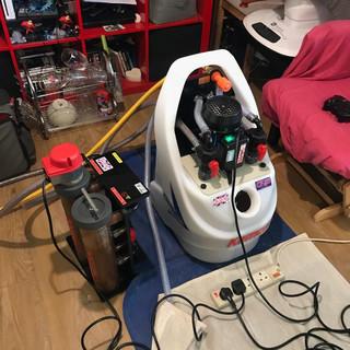 Powerflush Machine and Combi Mag