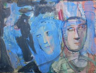 """Blue"" Barbara Harnack"