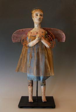 """Angel In Chair"" Barbara Harnack"