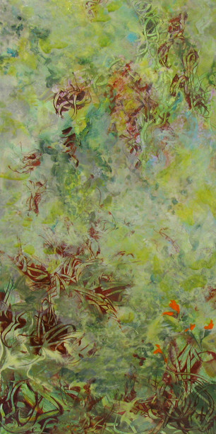 """Essence of Pigment"" Bonnie Teitelbaum"