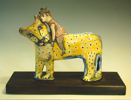 """""""Loving The Leopard"""" Barbara Harnack"""