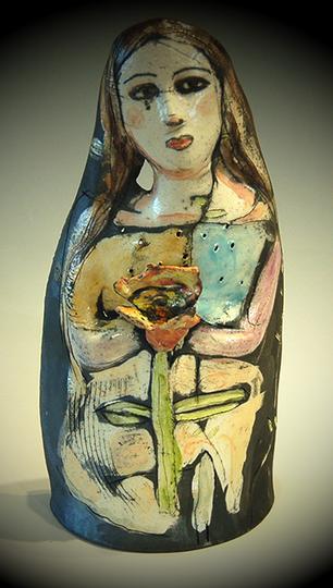 """""""Flower Girl"""" Barbara Harnack"""