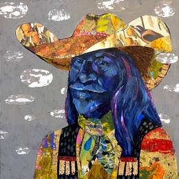 """Cowboys Get The Blues"" Darlene Olivia McElroy"