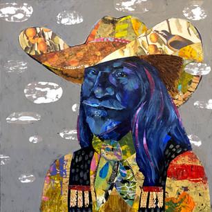 """Even Cowboys Get The Blues"" Darlene Olivia McElroy"