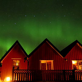 aurora at Lava Lodge