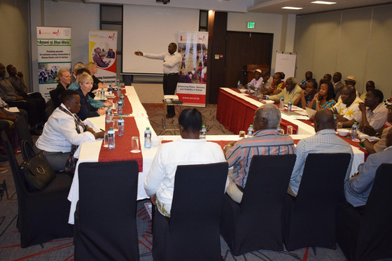 Pamoja leads Nordic ambassadors field visit to Kisumu County