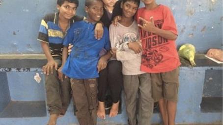 Vortrag von Stefanie Ritter - Praktikum in Indien