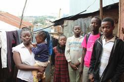 Family in Kibera