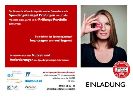 Das Österreichische Spendengütesiegel – was es bringt und was es braucht