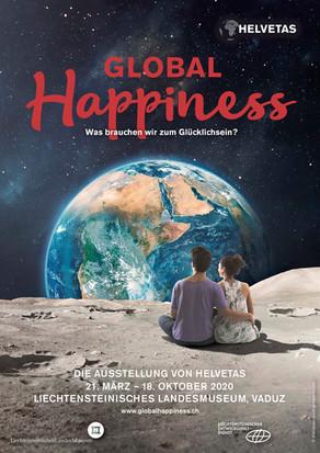 Global Happiness Ausstellung im Landesmuseum