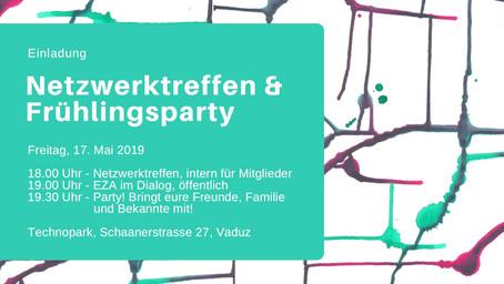 Netzwerktreffen und Frühlingsparty