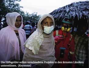 Eine Million für humanitäre Hilfe